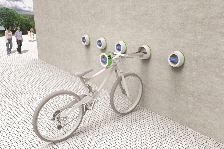 The Halla Wall Hanger Outdoor Bike Mount