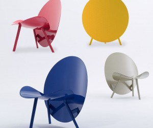 The HALO - A Colorful Carbon Fibre Chair