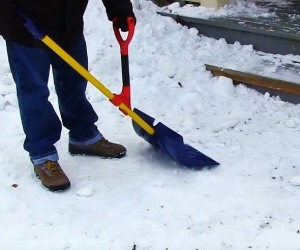 The HEFT: Ergonomic Shovel Handle
