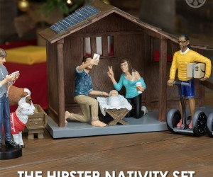 The Hipster Nativity Set