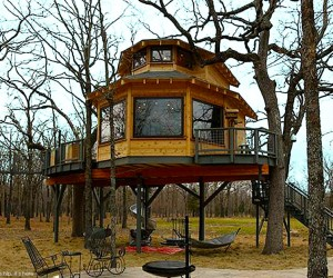 The Incredible Man Cave Treehouse