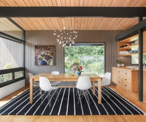 The Interior Remodel of a Midcentury Modern Home in Central Seattle