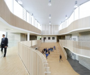 The international school in Ikast-Brande by C.F. Mller