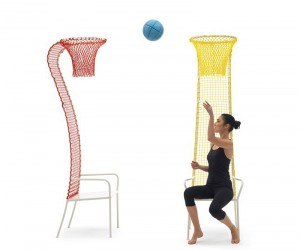 The Lazy Basketball Chair from Campeggi