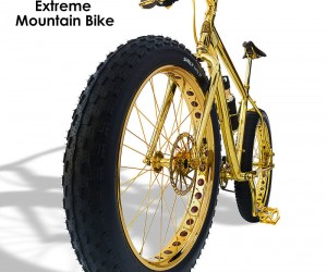 The Limited Edition 24k Gold Extreme Mountain Bike