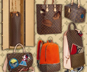 The Louis Vuitton Celebrating Monogram Collection by 6 Iconoclasts.