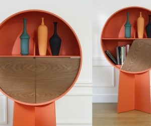 The Luna minimalist cabinet from Coedition