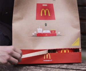 The McDonalds BagTray Is An Ingenious Invention.