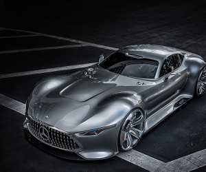 The Mercedes Benz AMG Vision Gran Turismo