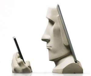 The Moai iPad and iPhone Docking Station