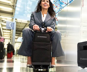 The Modobag Ride-On Motorized Luggage