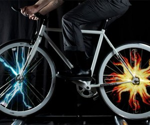 The Monkey Light Display Images And Animations On Your Bike Wheel