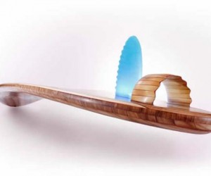 The Most Expensive Wooden Surfboard by Roy Stuart