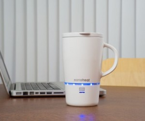 The Nano Heated Mug: An Electric Cup to Keep Your Coffee Piping Hot