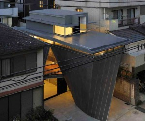 The Natural Stick II House in Tokyo