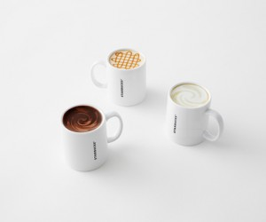 The Never Empty Mug Collection for Starbucks by Nendo