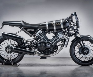 The New Brough Superior SS100 Motorcycle