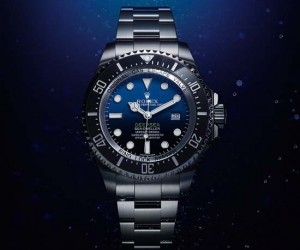 The new Rolex Deepsea with a D-blue