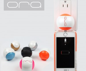 The ORA Pod - a portable wireless charger for smart phones