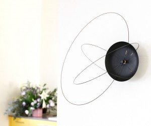 The Orbits Clock by Studio Ve