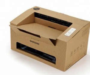 The Origami : A Foldable Cardboard Laser Printer