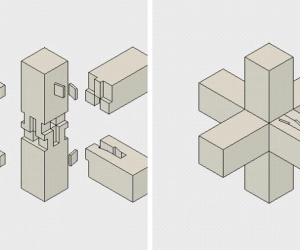 The Perfection of Traditional Japanese Joinery in Animated Illustrations  GIFs