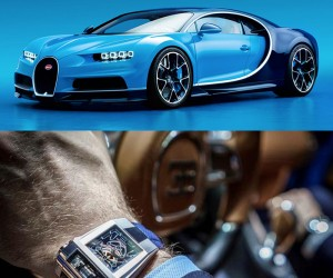 The PF Bugatti Type 390 Watch Inspired by The Chiron