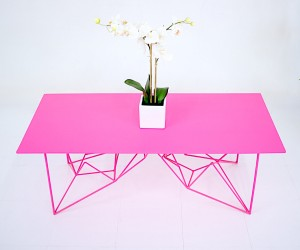 The Pink Coffee Table