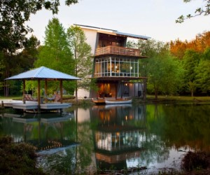 The Pond House: Going Green All The Way