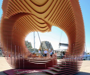 The PortHole Pavilion by TOMA