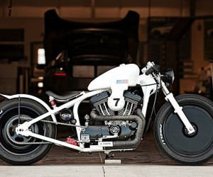 The Racer Harley Evo By DP Customs