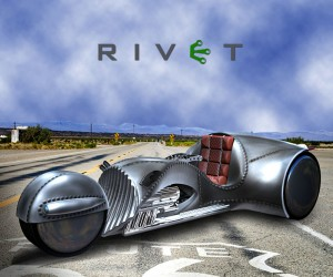 The Rivet: A Steampunk Trike