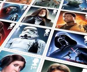 The Royal Mails Star Wars Stamp Collection