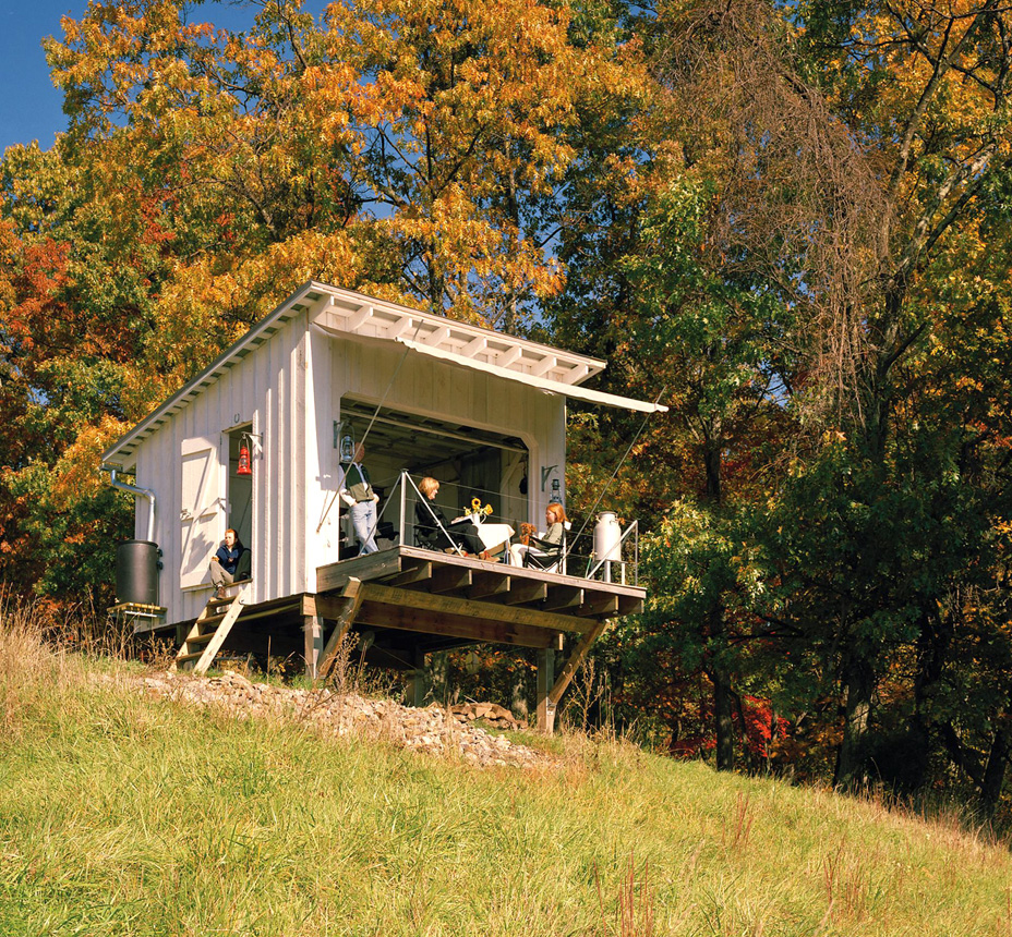 The Shack At Hinkle Farm By Broadhurst Architects