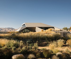 The Shapeshifter House by OPA, Nevada