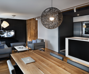 The sleek interiors of The Love Apartment