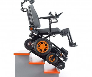 The Stair Climbing Wheelchair