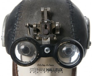 The Steampunk Sculptures of Stephane Halleux