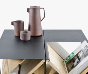 The Steel Stool by Noon Studio