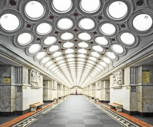 The Stunning Beauty of Russias Metro Stations