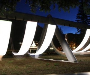 The Swings: Musical Swing Art Installation
