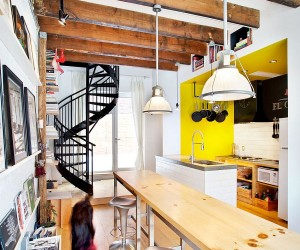 The Tire Shop Project: Inventive and Sustainable Live-Work Studio in Montreal