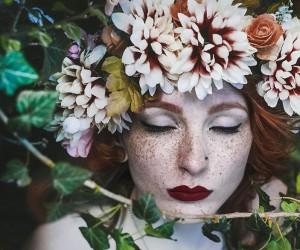 The True Beauty of Freckles by Martina poljari Pracai