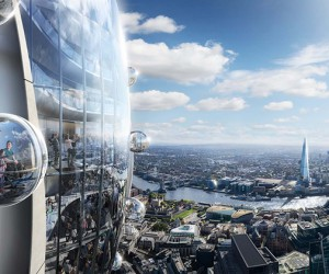 The Tulip Tower, London, UK  Foster  Partners