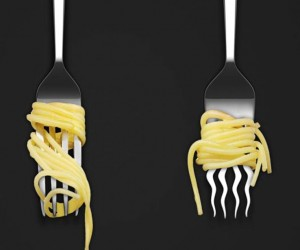 The Twister: Spaghetti Fork