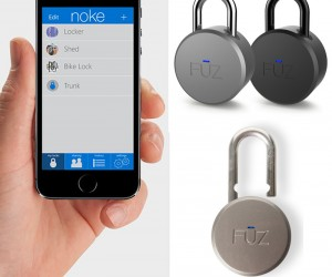 The Worlds First Bluetooth Padlock by FUZ Designs.