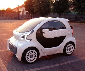 The Worlds First Mass-producible 3D-Printed Electric Car