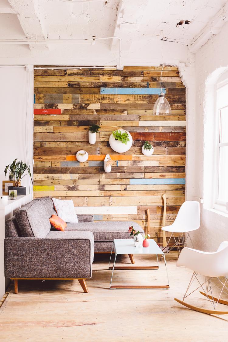 Pallet Wall Art Part - 21: Materialicious