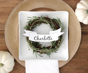 These 24 Thanksgiving Place Card DIYs Will Set The Table Right