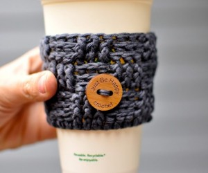 d078f323d6bb ... These Free Crochet Coffee Cozy Patterns Will Make Your Morning Complete  ...